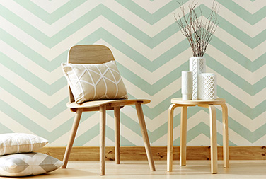 Scion-Lohko-Wallpaper-Vector-Wallpaper-white-green-stripe-geometric-abstract-nendo-cushions
