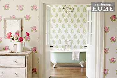 Sanderson Maycott Home Wallpaper Lamorna